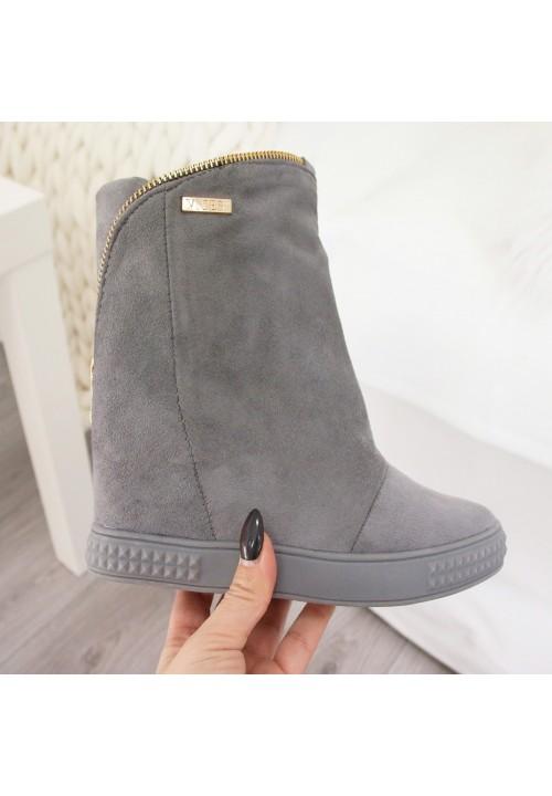 Trampki Koturny Dark Grey Sneakers Style