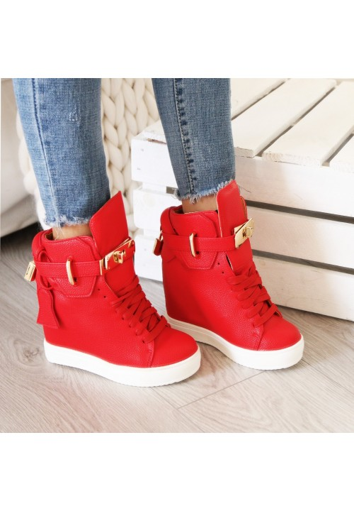 Trampki Sneakers Red Code Gold New