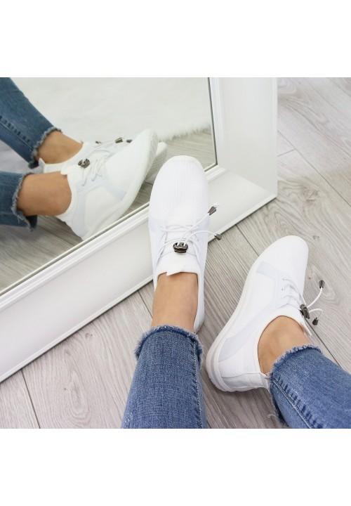 Trampki Białe Lekkie New Ultra Soft