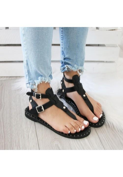 Sandałki Japonki Black Gladiators