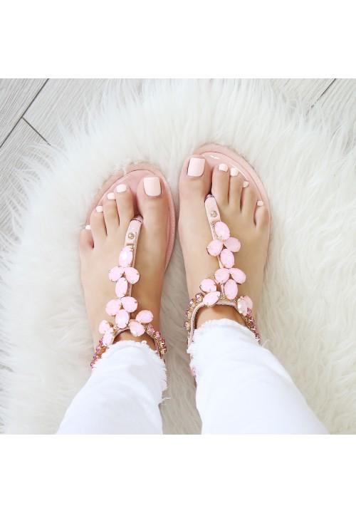 Sandałki Japonki Różowe MaddieStone