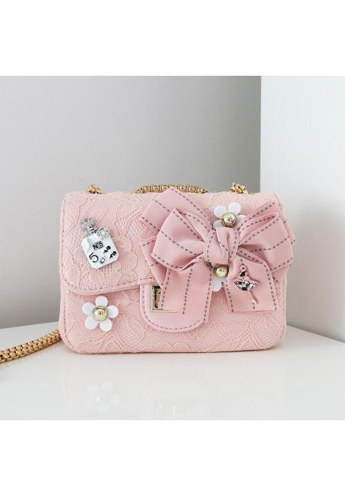 Torebka Glamour Pink Broschett