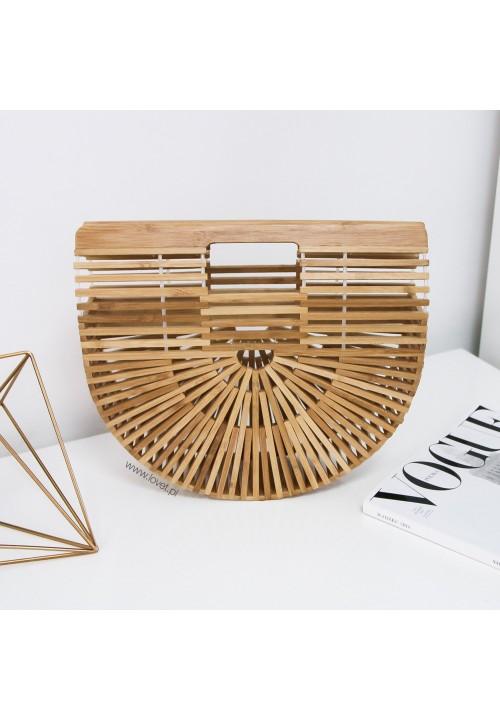 Koszyk Bambusowy Mały Boho