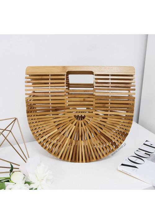 Koszyk Bambusowy Duży Boho