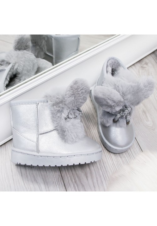 Śniegowce Srebne Snow Bunny Kids