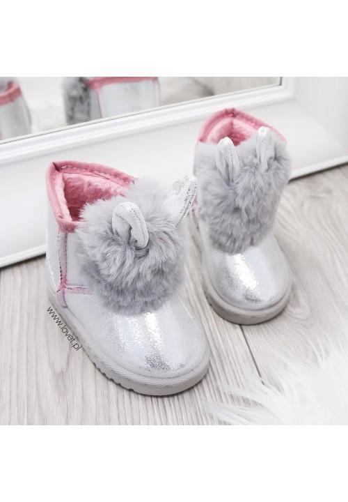 Śniegowce Srebne Snow Bunny Baby