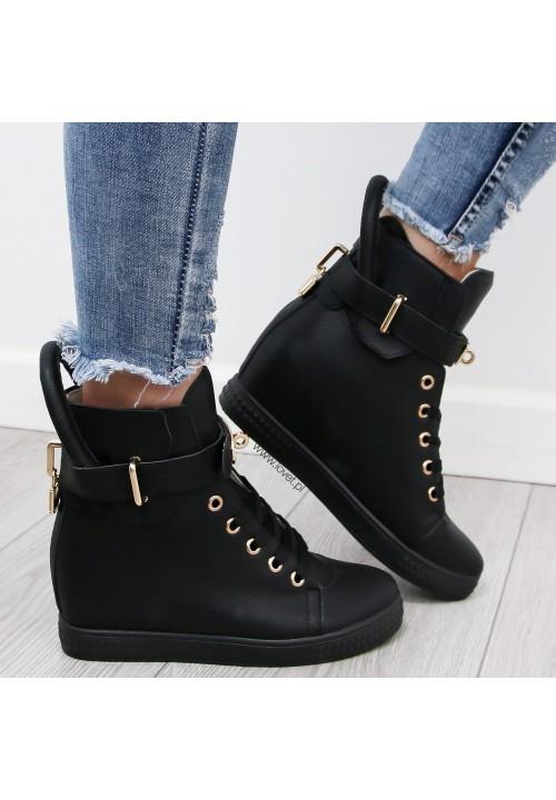 Trampki Sneakers Black Code Gold
