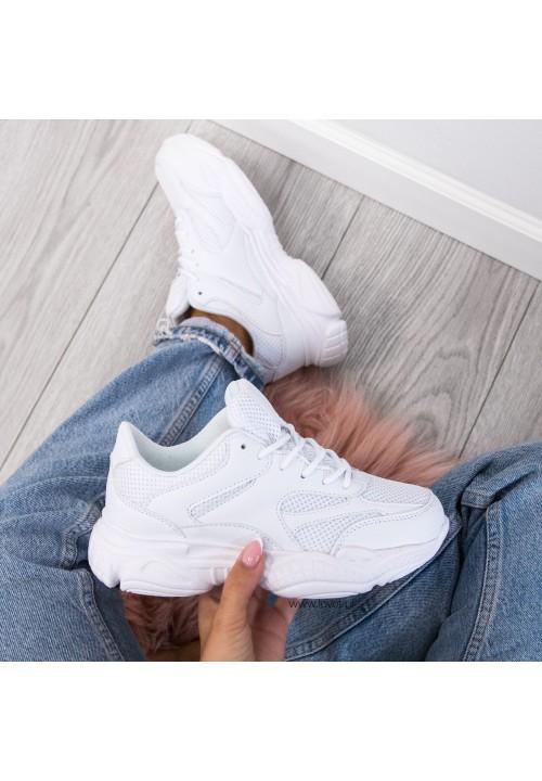 Trampki Sneakersy Sportowe Białe Dolly