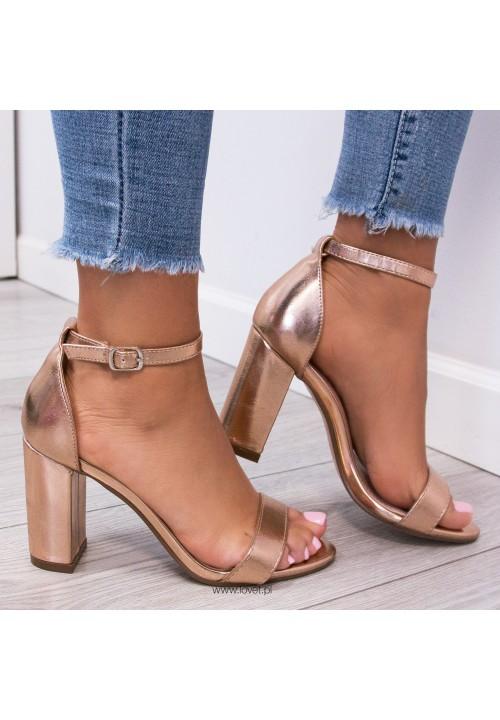 Sandały Klasyczne Różowe Złoto Ariel Classic
