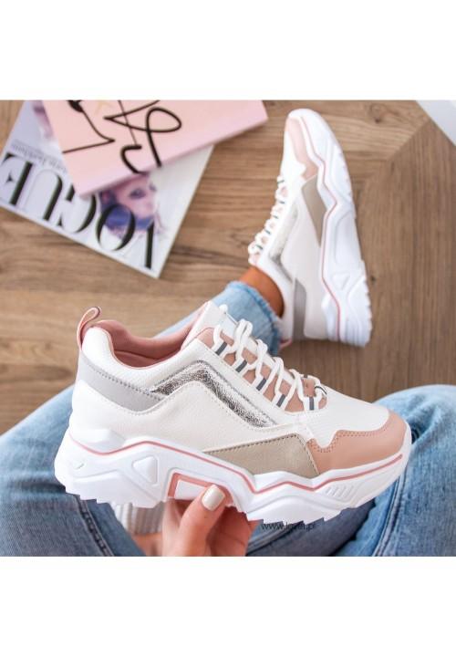 Trampki Sneakersy Sportowe Pink  Hope