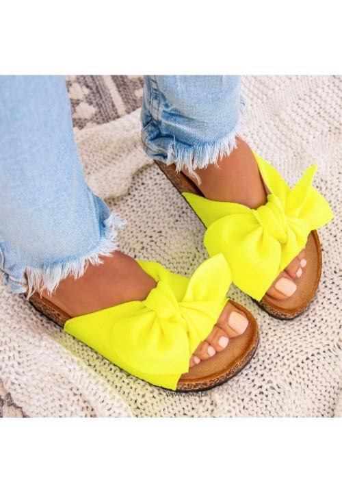 Klapki Klasyczne Yellow Sheila