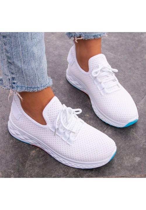Trampki Sportowe Białe Leylas Soft