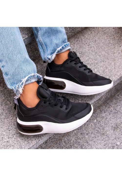 Trampki Sneakersy Czarne Magie