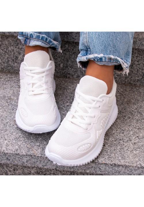 Trampki Sneakersy Białe  Jude