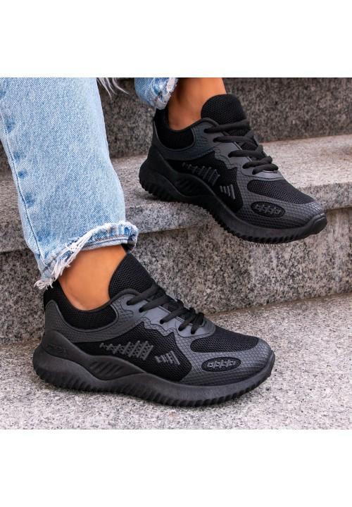 Trampki Sneakersy  Czarne  Jude