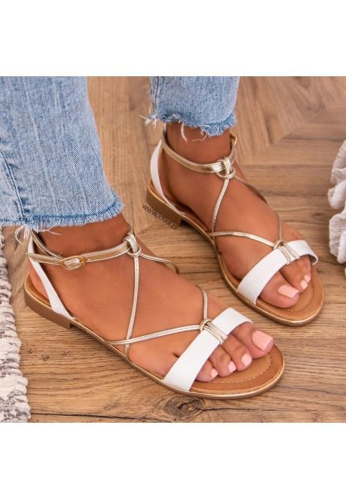 Sandałki Białe Siminn