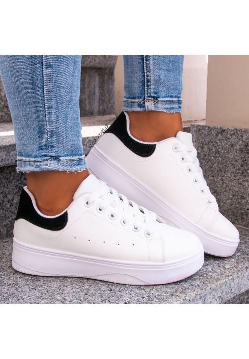 Trampki Sneakersy Białe Amani