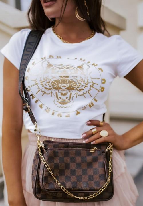 T-shirt Biały Adelia