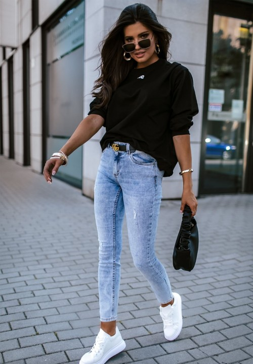Bluza Czarna Basic