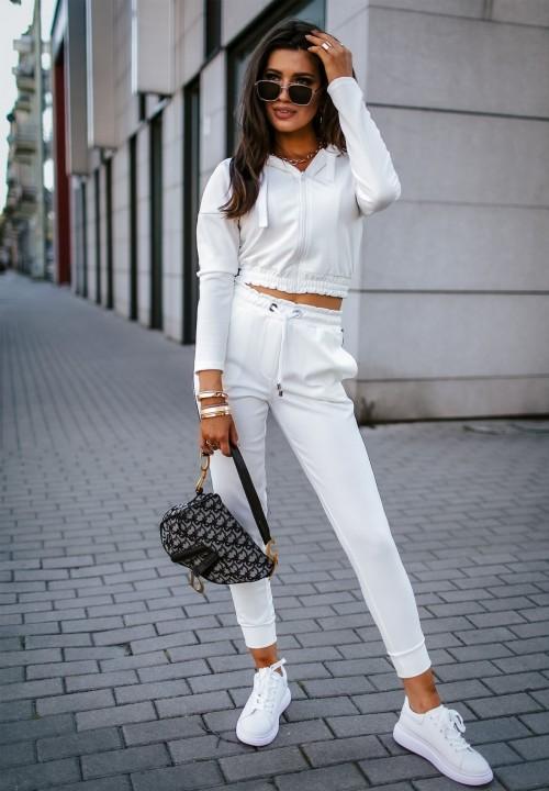 Komplet Dresowy Biały Valeria