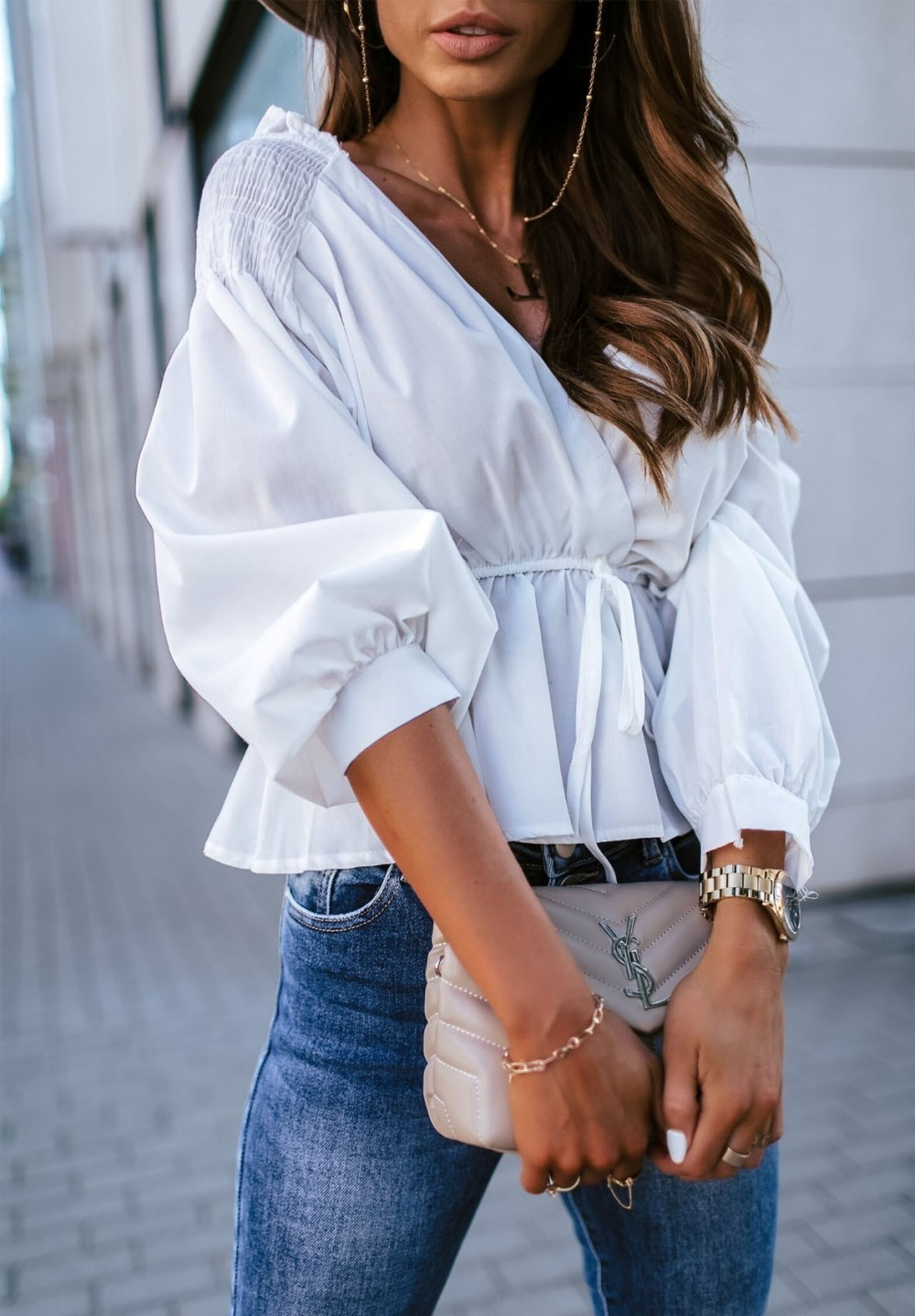 Bluzka Biała Flavia