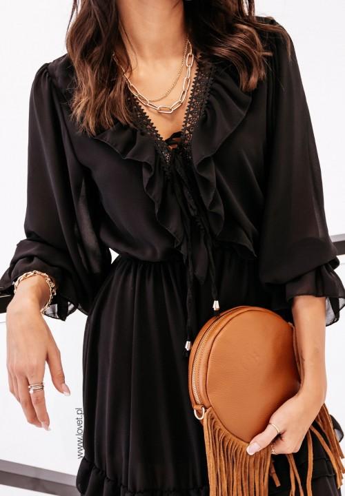 Sukienka Czarna Rina