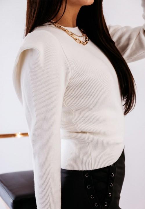Biały Sweterek Tove