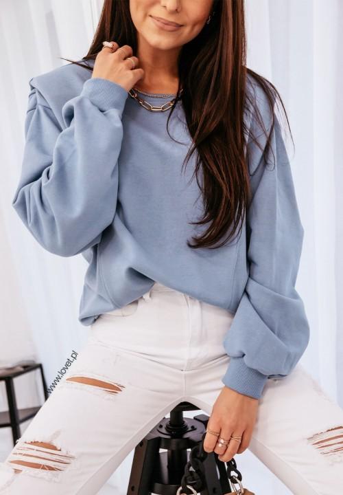 Bluza Niebieska Leandre