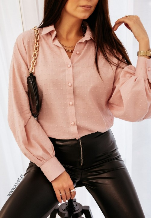 Różowa Koszula Beri