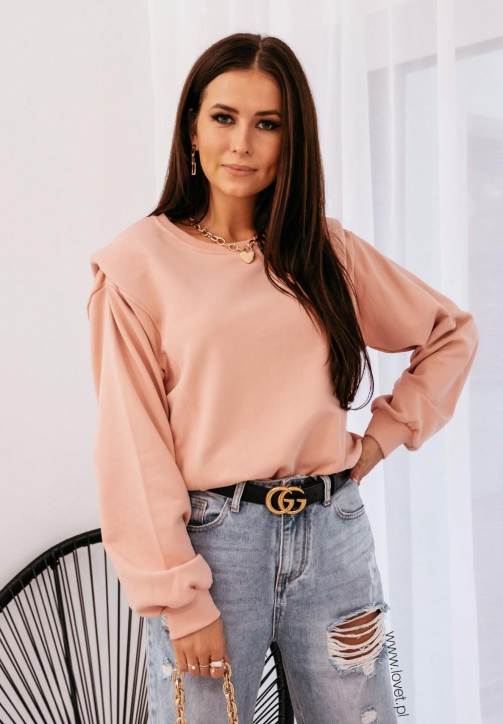 Różowa Bluza Leandre