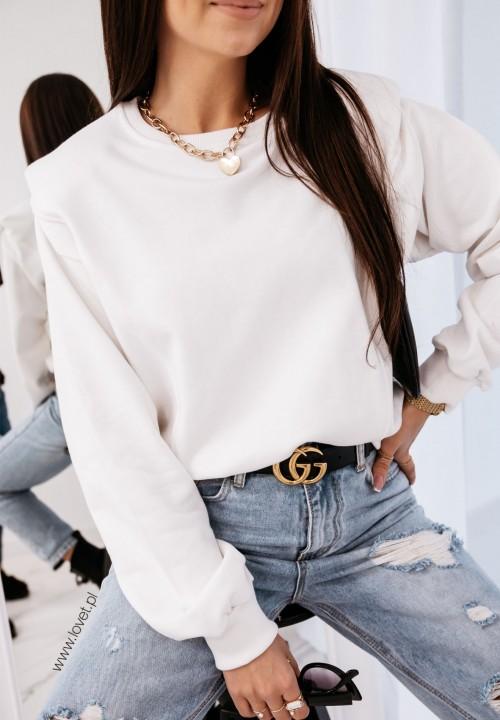 Bluza Biała Leandre