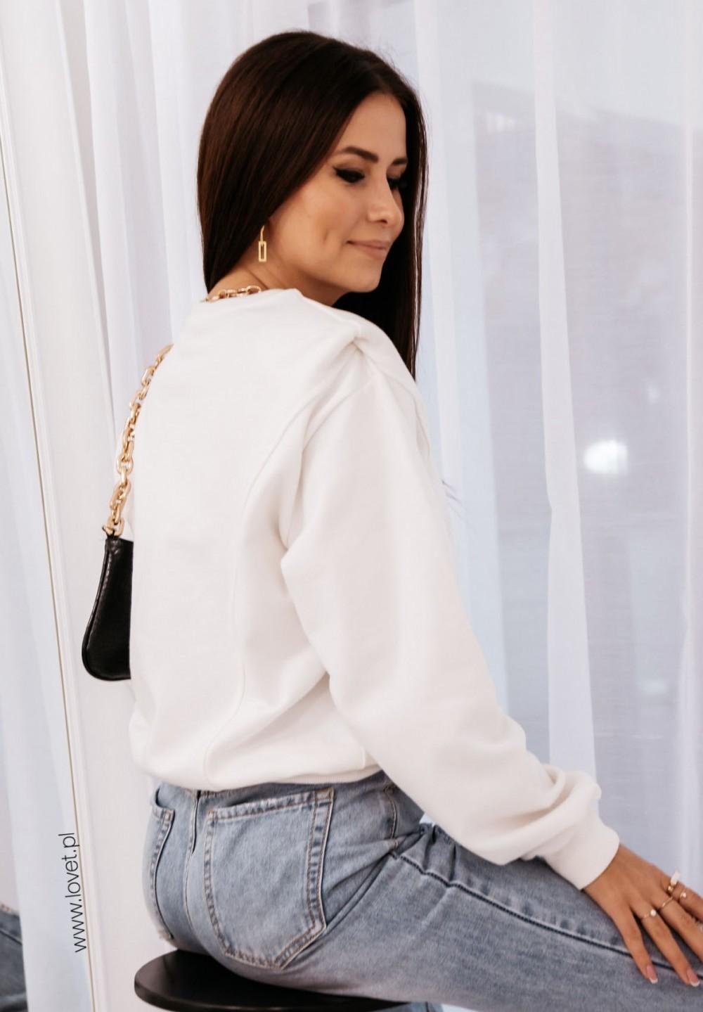 Biała Bluza Leandre