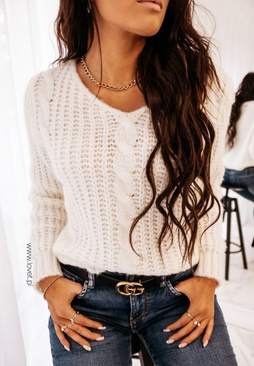 Sweter Kremowy Santo