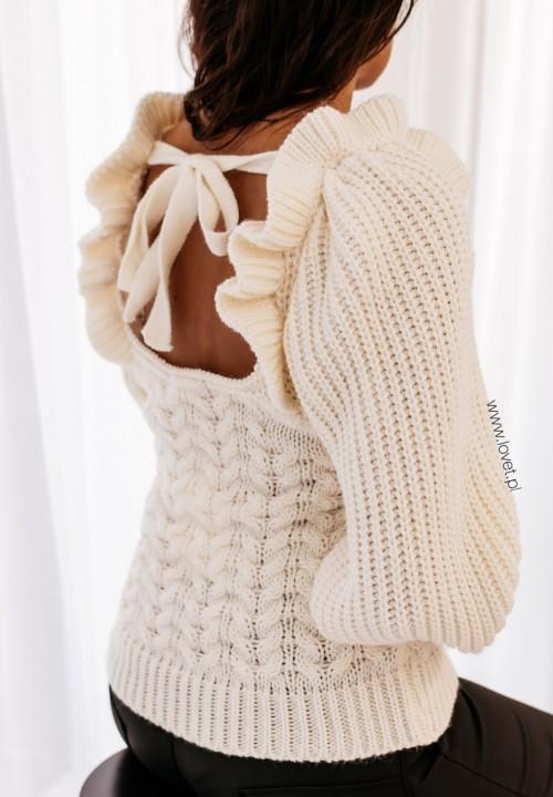 Sweter Kremowy Selina