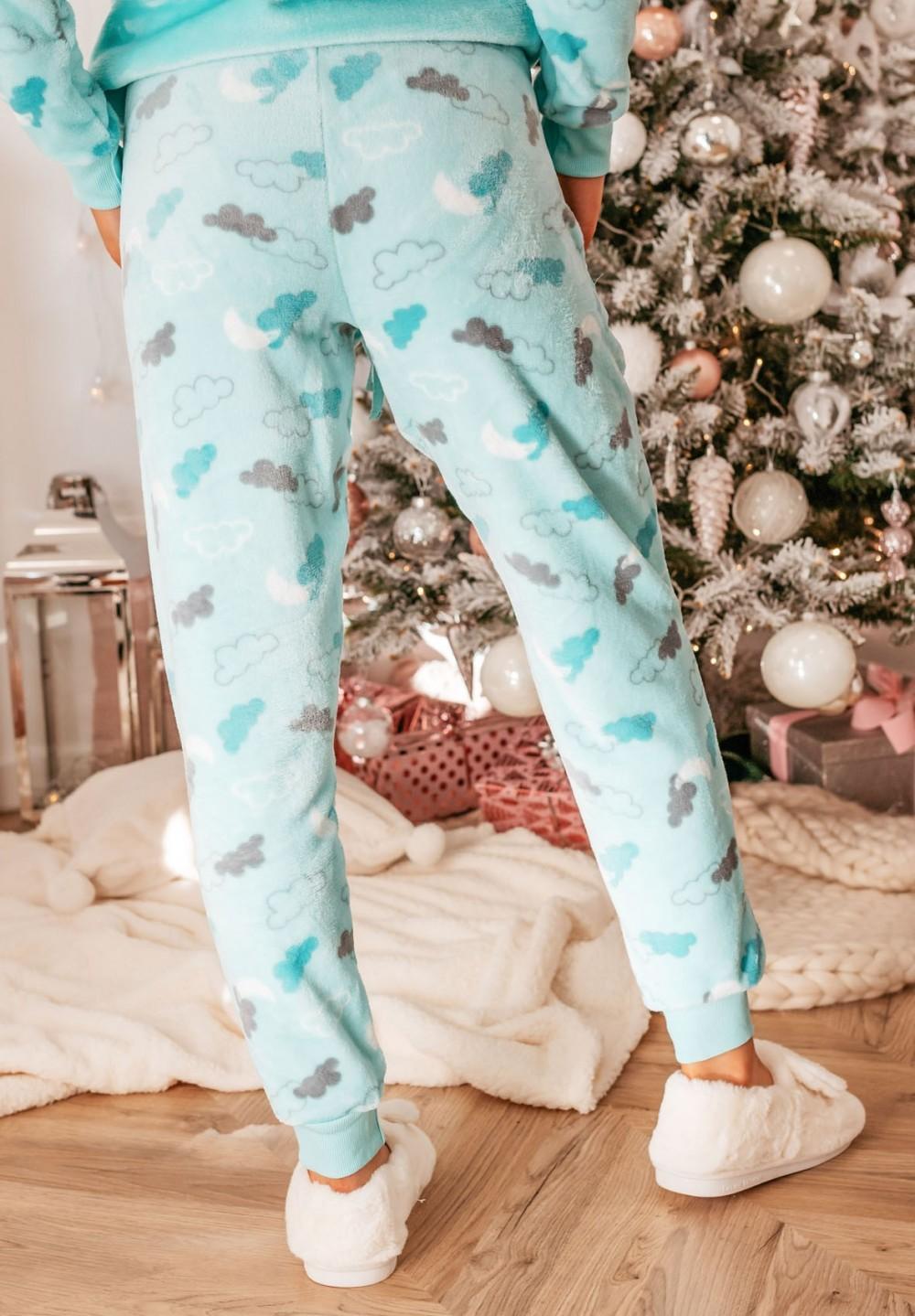 Piżama Dwuczęściowa z Chmurkami  Milky