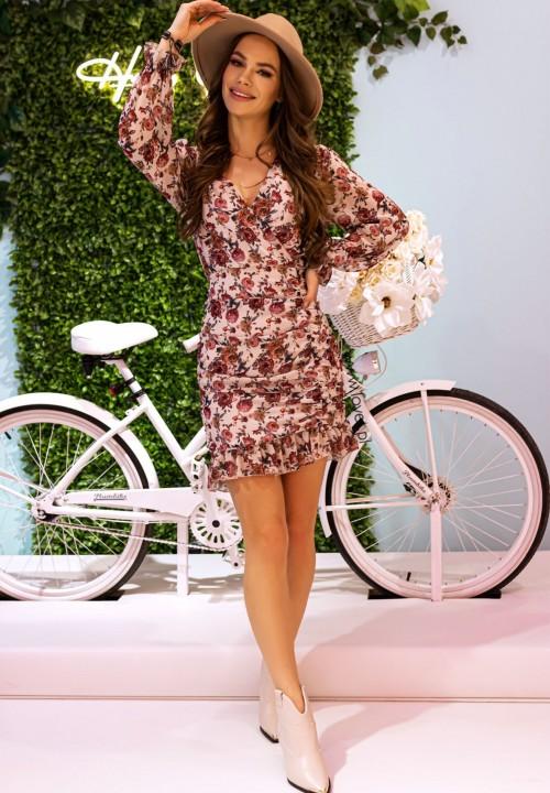 Sukienka w Kwiaty Florina