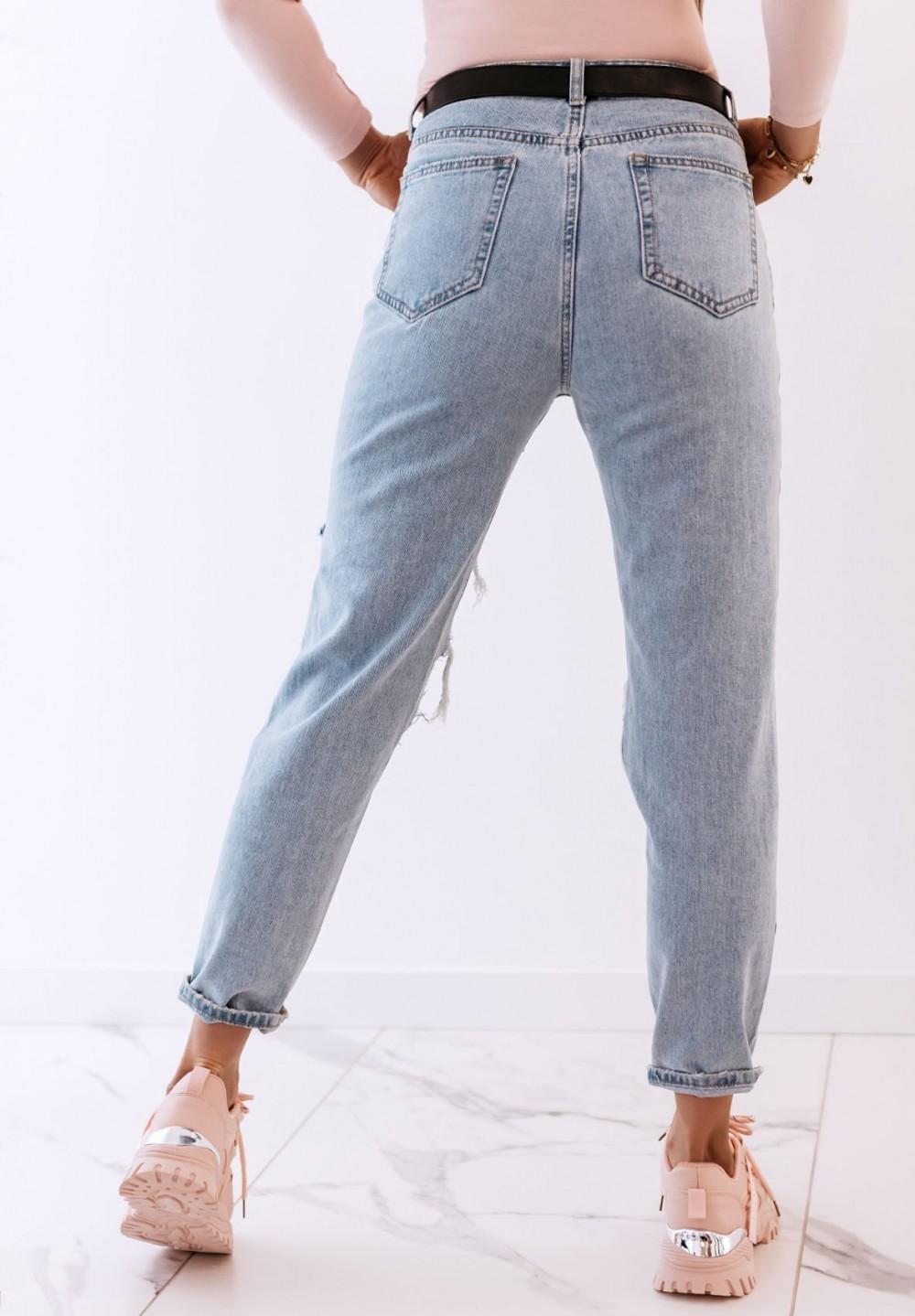Spodnie Jeansy Mom Fit  Bom