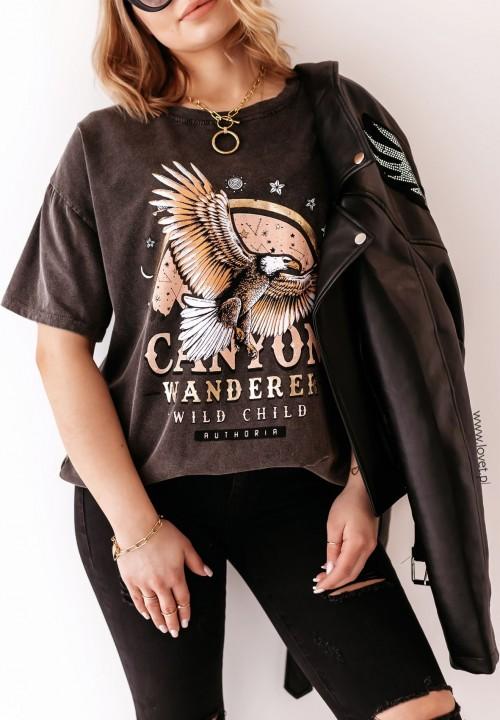 T-Shirt z Orłem Eagle