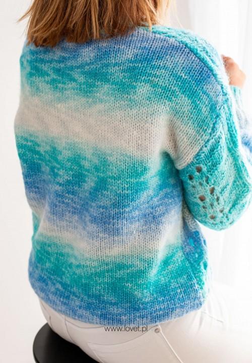 Sweter Niebieski Robina