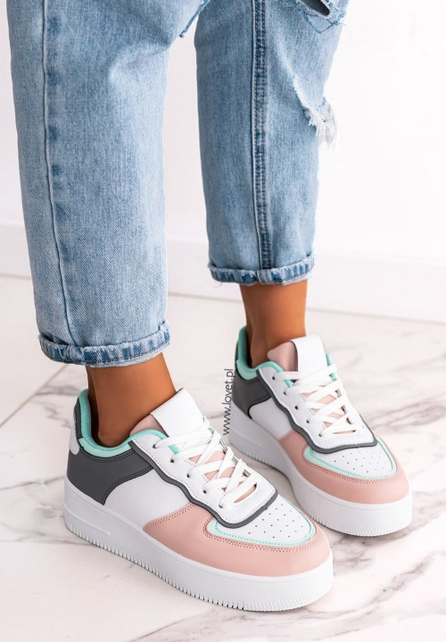 Trampki Sneakersy Szare Heyley