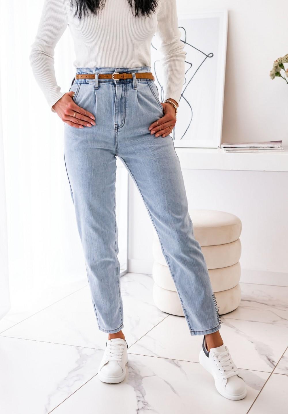 Spodnie Jeansy Boyfriend Axel