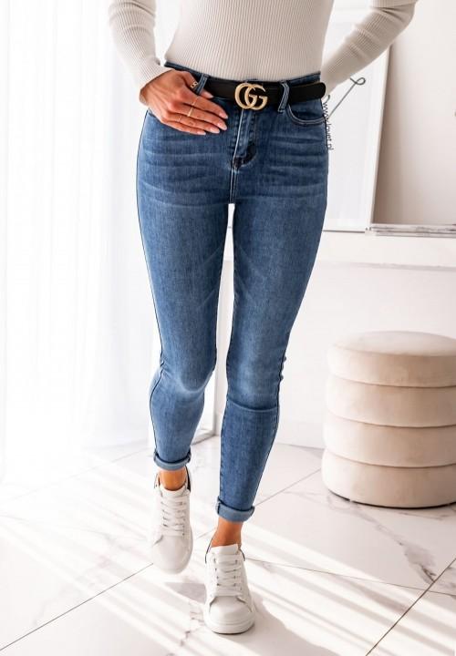 Spodnie Jeansowe Push Up Holin