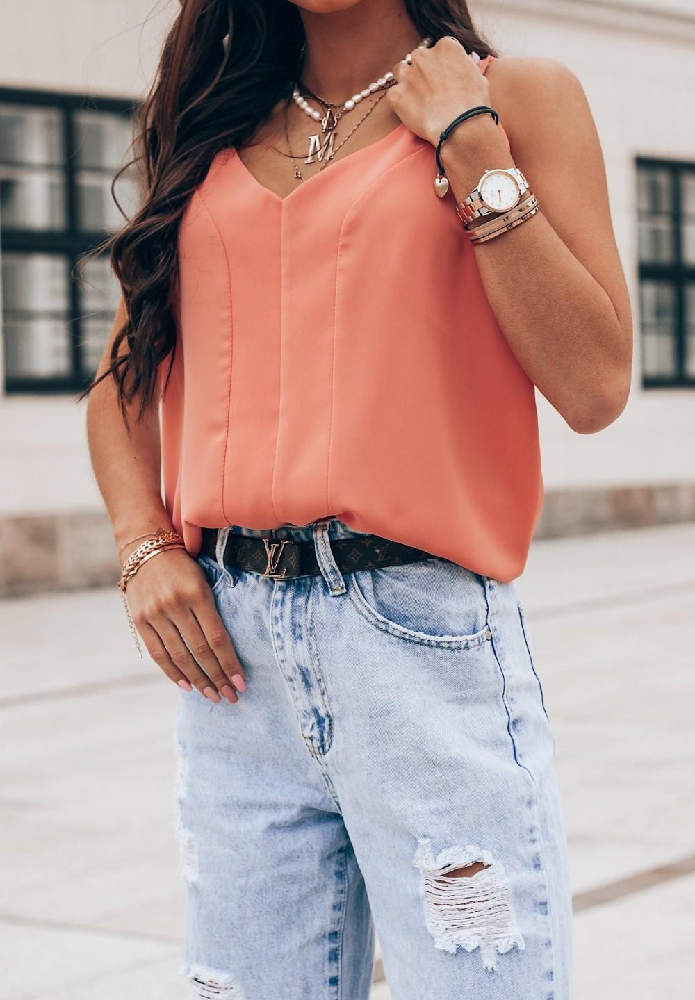 Top Pomarańczowy Rachel