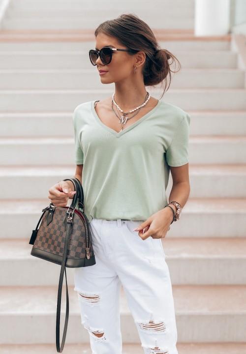 T-shirt Zielony Classic